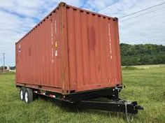 Image result for shipping container trailer gooseneck
