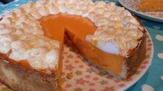 Тыквенный пирог с меренгами