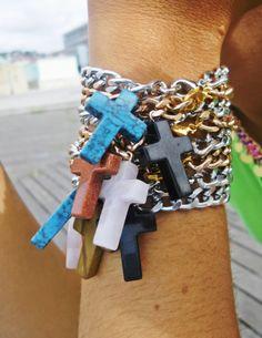 "Bracelets "" I am totally """