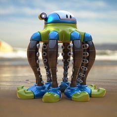 Octobot by Steve Talkowski