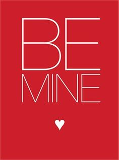 Be Mine #valentines card #printables