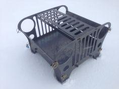 Jeep fire pit from artist in PlasmaSpider.com