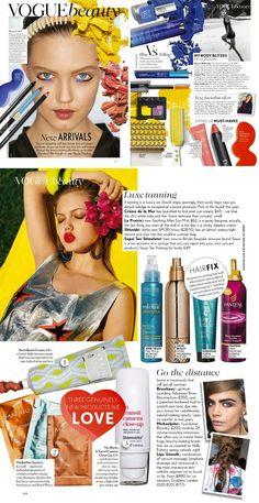 http://www.myfdb.com/editorials/127997-vogue-british-editorial-vogue-beauty-june-2013 My Fashion Database: Vogue British Editorial Vogue Beauty, June 2013 #Vogue #beauty #tips #tricks #tanning #products #magazine #editorial #MYFDB