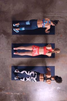The holiday season is no reason to stop you from accomplishing your goals. Push past your limits with this push up to modified side plank core builder. Start with a push up into plank, engage your core, and rotate your hip to bring your opposite leg to the front. Keeping your core strong, raise your arm and hold. Click through for outfit inspiration.