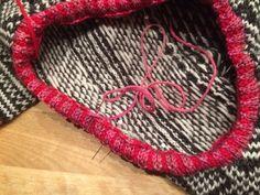 Slik kan du lage pen hals — Hjertebank Darning, Ravelry, Knitting, Fiber, Fabrics, Tutorials, Tips, Breien, Tejidos