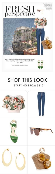 """""""FRESH PERSPECTIVE"""" by paint-it-black ❤ liked on Polyvore featuring Philosophy di Lorenzo Serafini, Paul Andrew, Linda Farrow, Lana and Aranáz"""
