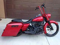 Harley Davidson  Road King. Custom #harleydavidsoncustommotorcyclesclassiccars