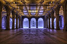 Central Park's Bethesda Fountain, NYC - Refuge by Jose  Vazquez, via 500px