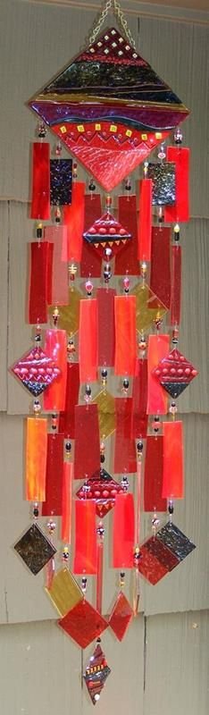 Nice combination of fused and cut glass | Everything made of Glass