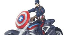 'Captain America: Civil War' Hasbro Toys Unveiled -- Hasbro has debuted the first images from its 'Captain America: Civil War' toy line, featuring Black Widow, Falcon, Iron Man and more. -- http://movieweb.com/captain-america-civil-war-hasbro-toys/