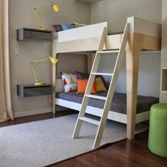 We have one Perch Bunk Bed in stock, ready for delivery in UK before #Xmas. Big surprise for the kids! esideconceptsore #oeufnyc #kidsstore #designforkids #bunkbeds #kidsbedroom image via #popsugar #bedsforkids
