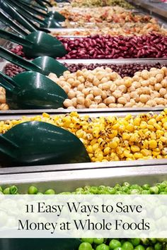 11 Easy Ways to Save Money at Whole Foods via @PureWow