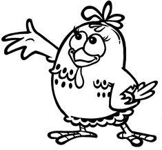 galinha pintadinha para colorir1