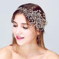 Shining Crystal/Rhinestone/Alloy Headbands (042075706)