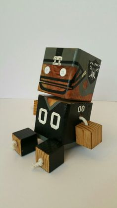 Raiders - wood toy, natural wood, wood robot, DIY toy #woodtoy