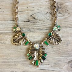 ⚠️ FLASHSALE 🆕 Statement Necklace Beautiful with a hint of an island vacation. Perfect for work then right off to a night at dinner or out with friends. Ocean Jewelers Jewelry
