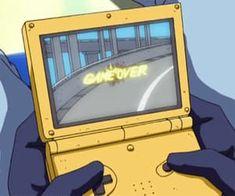 Best Ideas for yellow anime aesthetic wallpaper Aesthetic Gif, Aesthetic Backgrounds, Retro Aesthetic, Aesthetic Pictures, Aesthetic Wallpapers, Vaporwave, Me Anime, Anime Art, Anime Scenery