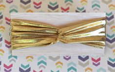 Gold Turban Headband for Babies and Kids by findandkeepshop, $12.00