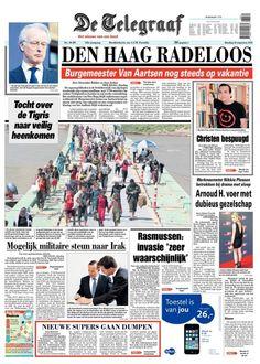 Telegraaf augustus 12 2014 irak
