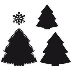 CR1227 Wykrojniki Craftable - Christmas tree