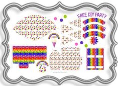 free jelly bean party printables! for beans' 2nd birthday party...?