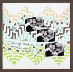 Fluffy & Fido 6x6 Stack Pack Layout - Creative Memories #scrapbooking *Jessica Case consultant