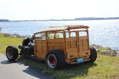 Custom Woody Hot Rod for sale: photos, technical specifications, description Jeep Rat Rod, Rat Rods, Lifted Ford Trucks, Big Trucks, Woody Wagon, Wooden Car, Pontiac Gto, Bugatti Veyron, Toyota Land Cruiser