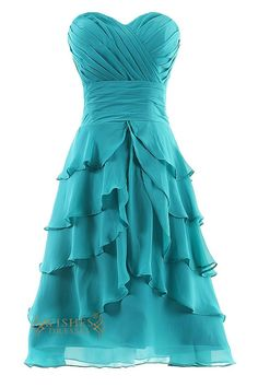 A-line short homecoming dress with multi-layer skirt while the bodice with ruched detail ,this formal dress can also be wear on other formal party as bridesmaid dresses,such as bridesmaid dress for we