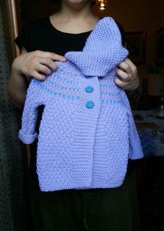 Regalo di Nonna Lucia per Fiammetta pura lana merino extrafine lavorato a mano.