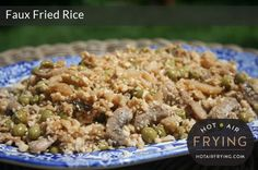Faux Fried Rice - Hot Air Frying