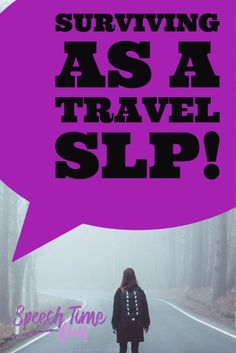 Are you dreading traveling as an SLP? Have no fear....Here are The Best Ways To Survive As A Travel SLP!