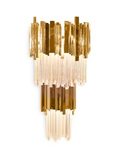 EMPIRE | WALL This is a natural decor piece inspired on Empire State Building that's why this creation is so powerful and capable to transform every space in a stunning scenario. #modernlamps #lamplighting #lightingdesign modern design, lamp design, lux lighting . Visit us at: http://www.luxxu.net