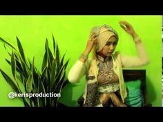 Tutorial Hijab (Chusnul Cuby) Part - 06 ( digunanakan ketika Party )