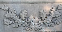 Tales Of The Tombstones from a GraveYard Rabbit of PA: Autumnal Accents: Oak Leaves and Acorns, Wheat Sheaves, and Grapes on the Vine Oak Leaves, Acorn, Vines, Symbols, Security Door, Autumnal, Cemetery, Rabbit, Bunny