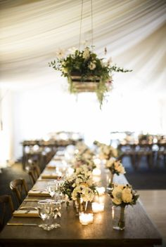 Organic elegance during this farm wedding: http://www.stylemepretty.com/colorado-weddings/2014/09/24/organic-elegance-in-colorado-at-ya-ya-farm-and-apple-orchard/ | Photography: Jason and Gina - http://www.jason-gina.com/