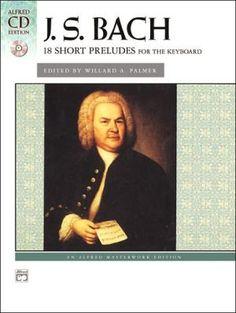 Bach+--+18+Short+Preludes:+Book+&+CD