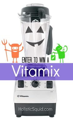 October Giveaway: Vitamix Blender ($489 value)
