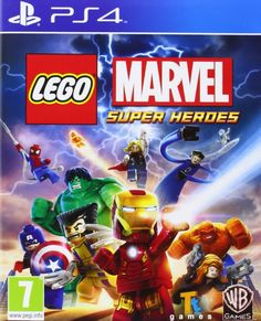 Lego Marvel Super Heroes (PS4): Amazon.co.uk: PC & Video Games