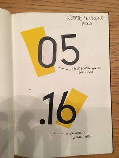 Element 3: Typografie data: Mogelijkheden; gesloten, open, speels of strak