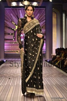 Ritu Kumar at Wills Lifestyle India Fashion Week Spring- Summer 2013...love the blouse!