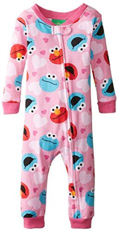 071898f551 Sesame Street Baby Boys  Elmo and Cookie Blanket Sleeper Sesame Street Baby  Boys  Elmo