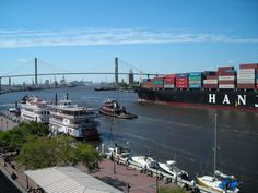 Traffic on the Savannah River