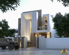 2019 arkitetur Modern Architecture House, Modern House Design, Architecture Design, Building Elevation, House Elevation, Front Elevation Designs, House Drawing, Cabins In The Woods, Future House