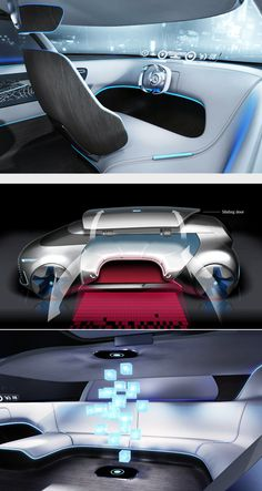 Mercedes Vision Tokyo Car Interior Design, Interior Concept, Automotive Design, Vintage Cars For Sale, Cheap Cars For Sale, Car Design Sketch, Design Cars, Auto Design, Design Design