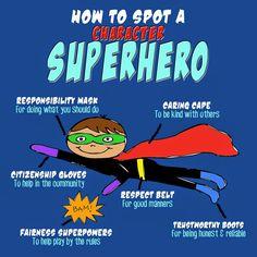 Character Superhero T