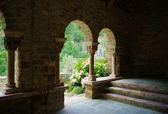 Abbey of Saint-Martin du Canigou, France by Pascal POGGI.
