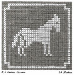 Sentimental Baby: Filet Crochet or Cross Stitch Animal Motifs