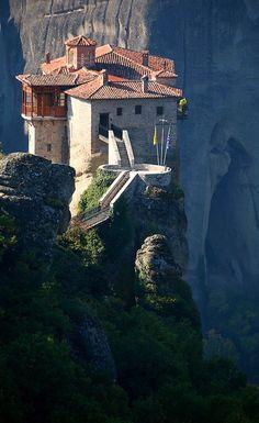 Rossanou Monastery, Meteora, Greece.