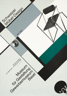 Schweizer Mobel-Design by Werner Jeker (1986) | Shop original vintage posters online: www.internationalposter.com