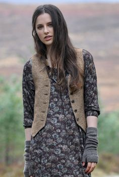 Herringbone Waistcoat / Brora